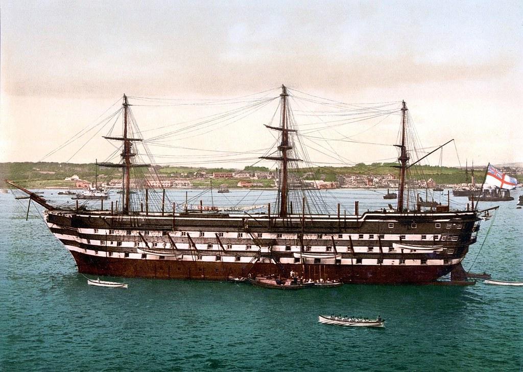 HMS Impregnable, Devonport Dockyard
