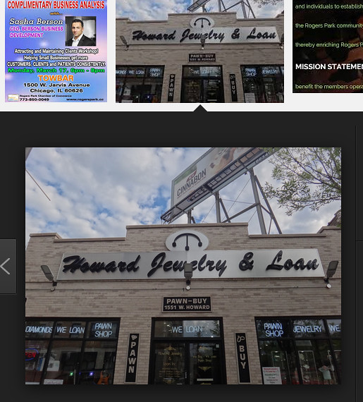 howard jewelry and loan rogers park chamber of commerce