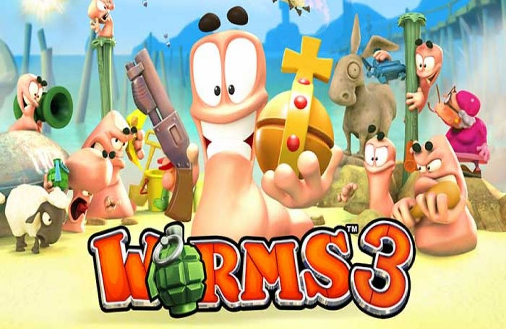 worms 3 online