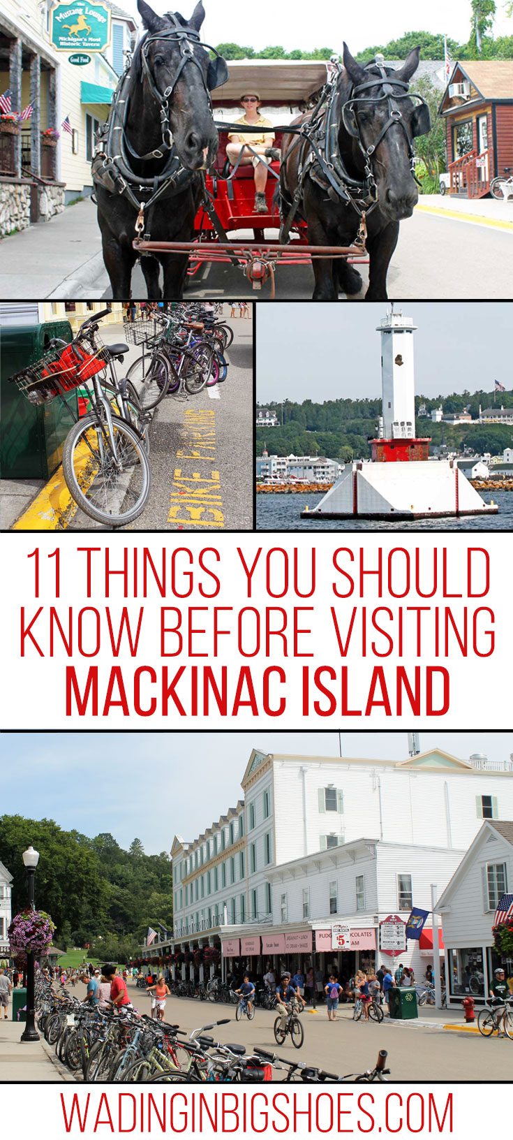 11 Things You Should Know Before Visiting Mackinac Island - tips to help you plan your Mackinac Island vacation! // [via Wading in Big Shoes]