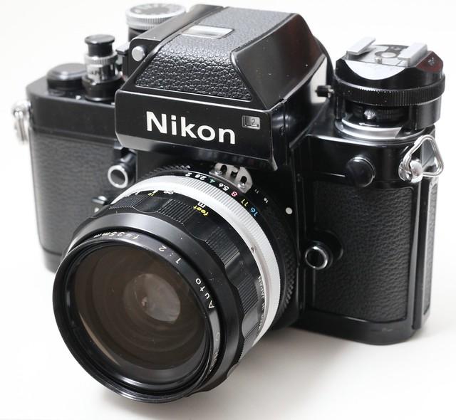 Nikon Nikkor AUTO-O 35mm f/2 (non-AI換原廠AI) 色靚銳利大光圈名鏡O頭 Nikon機全線啱用