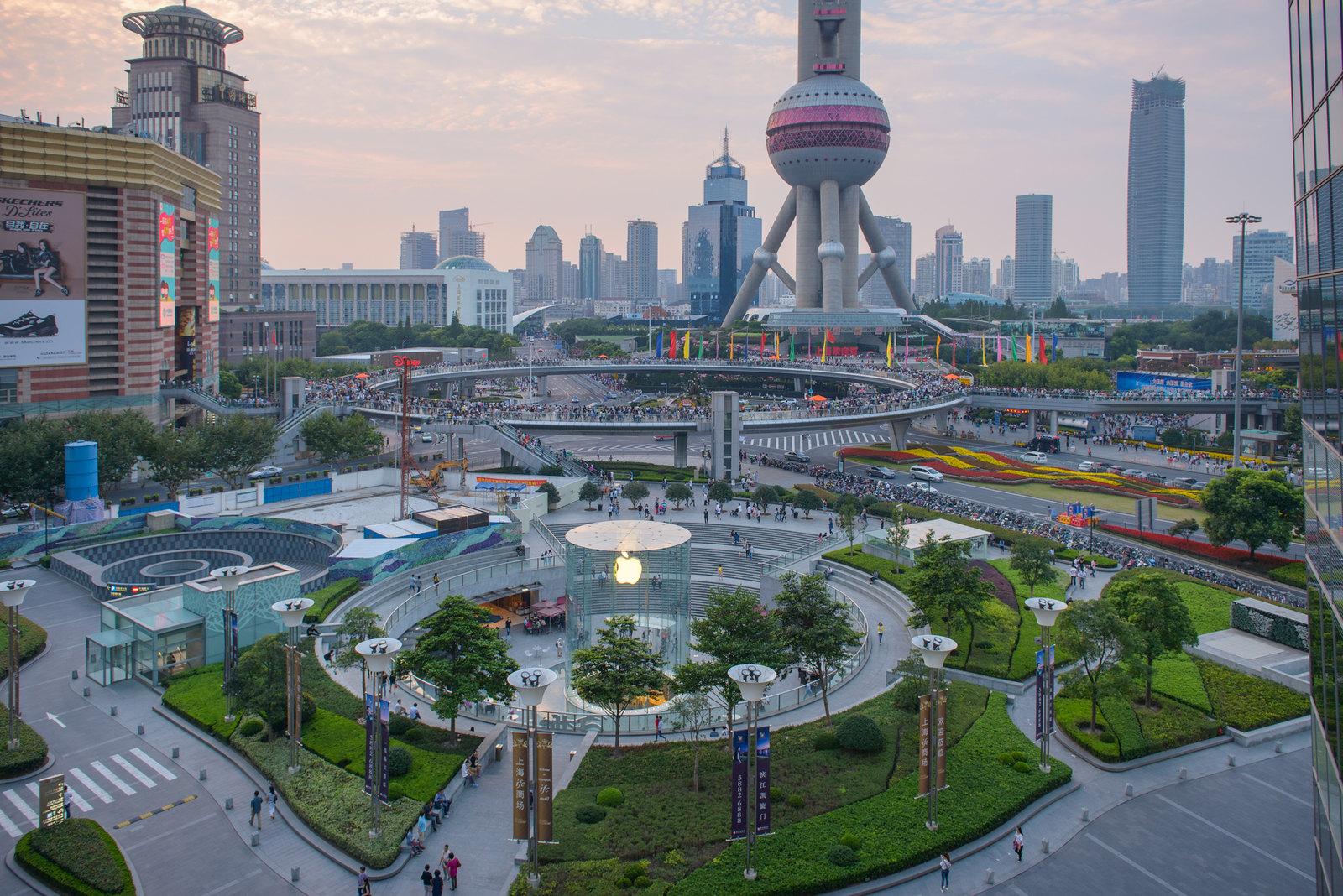 Pudong, Shanghai [OC 1600x1060]