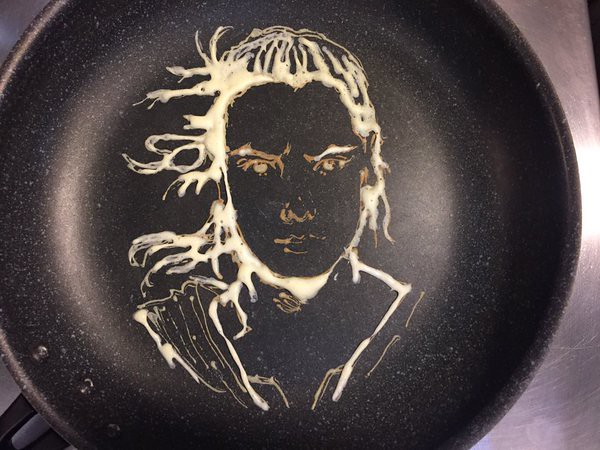 Star Wars The Force Awakens Rey Pancake