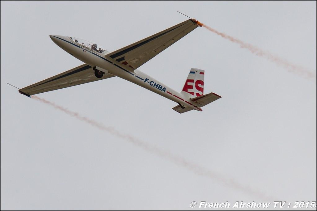 Planeur Swift S 1 , F-CHBA ,Fédération Française de Vol à Voile / FFVV , ES, Paris Airshow 2015 , Salon du Bourget 2015 ,lebourget, Meeting Aerien 2015