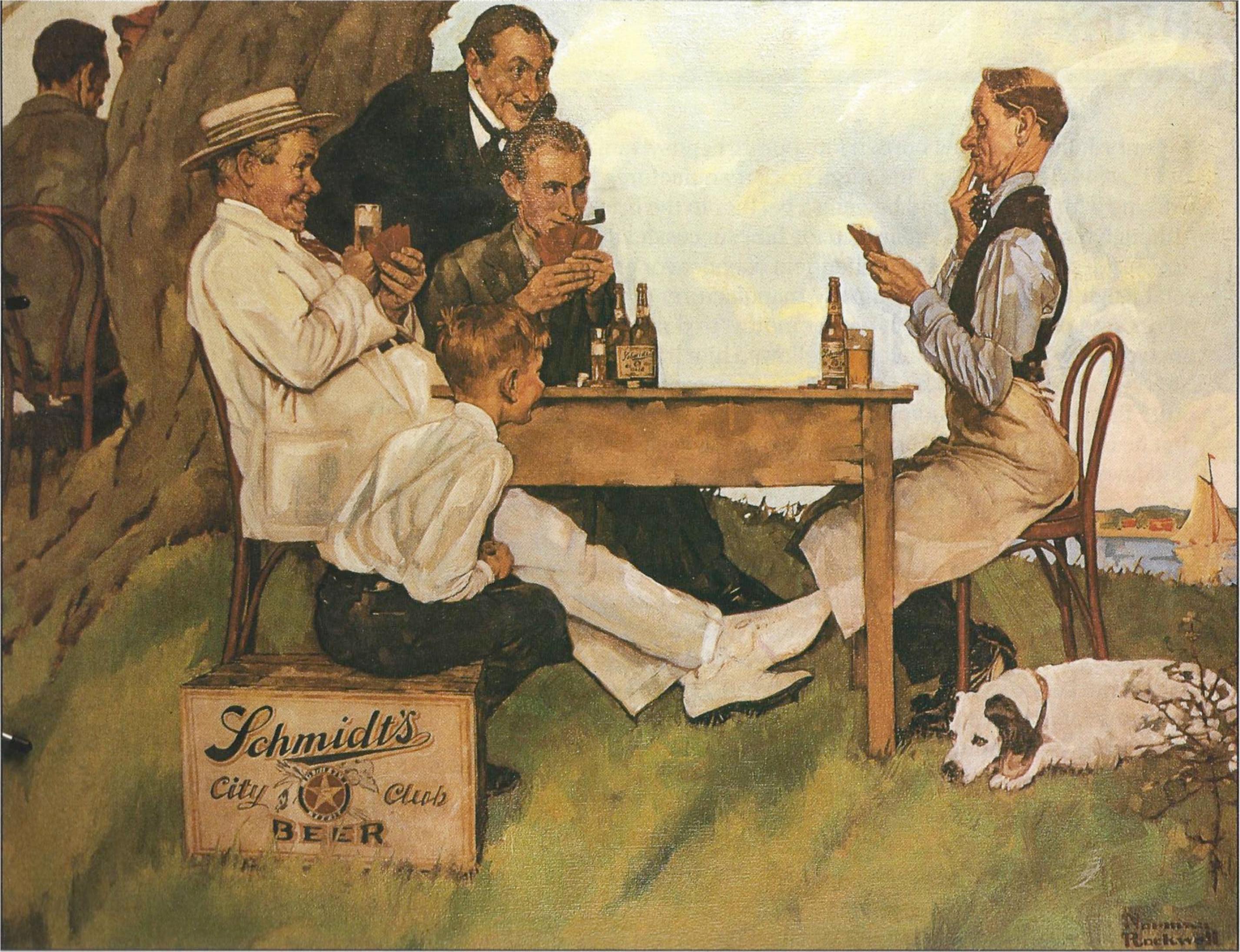 Norman Rockwell s Beer Brookston Beer Bulletin