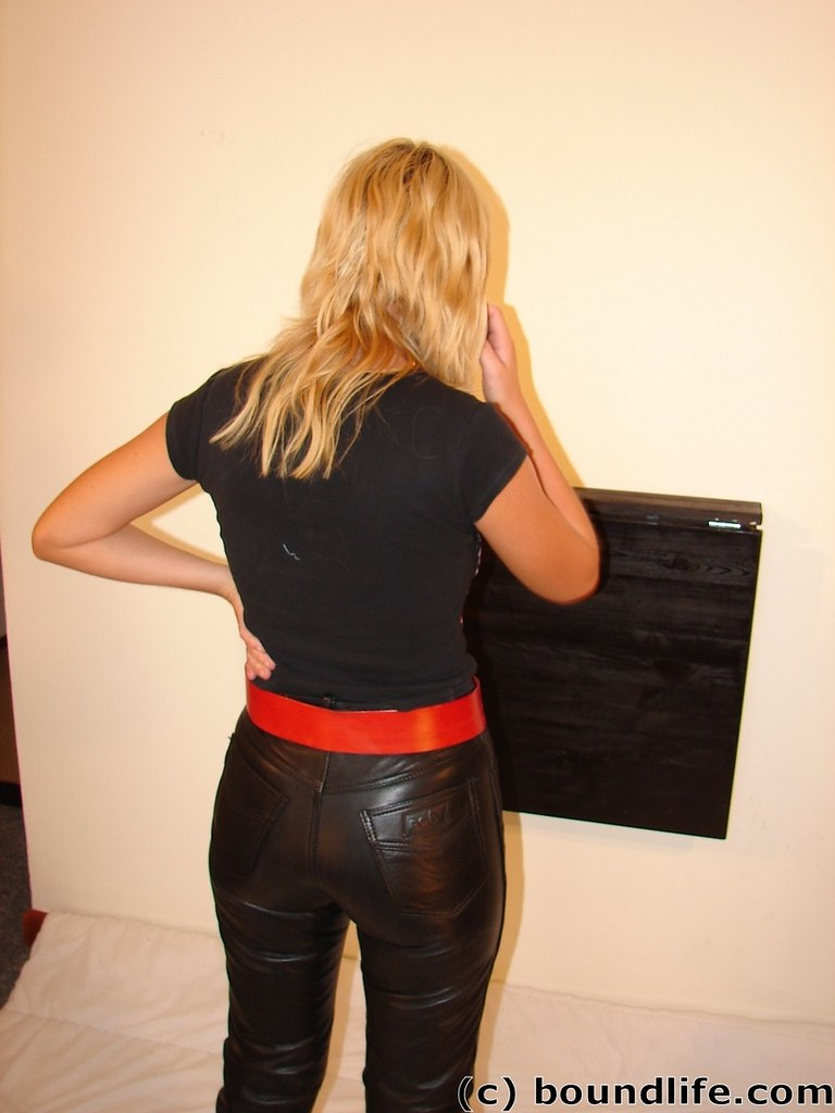 Ass In Leather 38