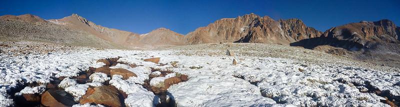 El Chañi bajo la nieve