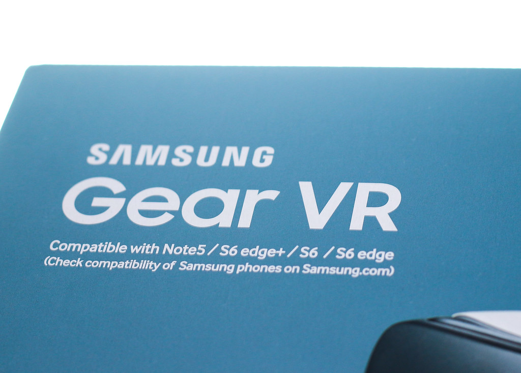 Samsung gear vr virtual reality headset feat samsung gal flickr