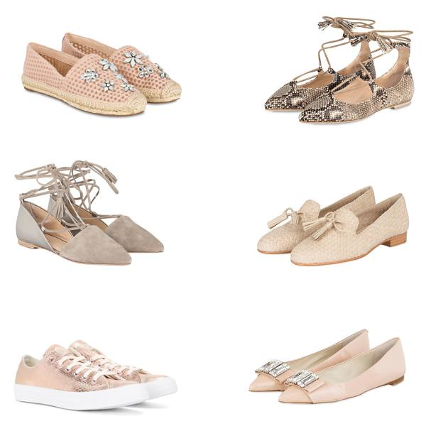 Spring shoes in nude colors
