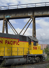 trestle and train