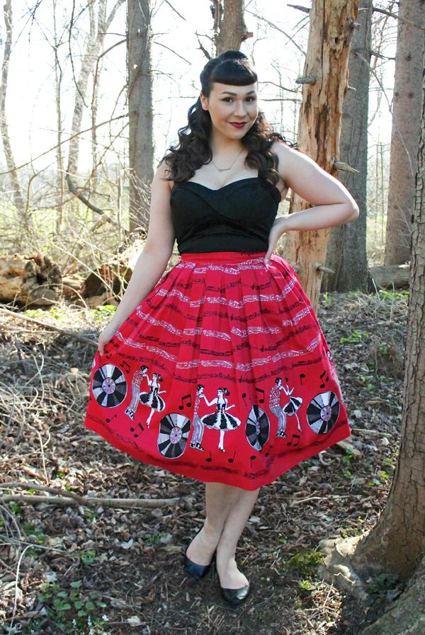 banned apparel skirt