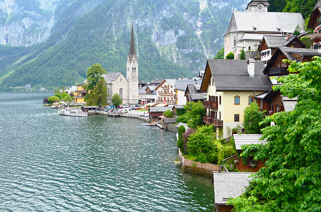 From the photo point, Hallstatt, Austria