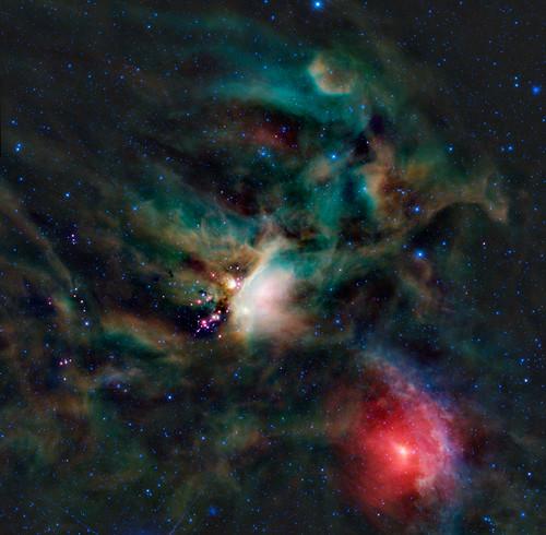 VCSE - Rhó Ophiuchi ködössége - WISE