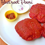 Beetroot poori recipe