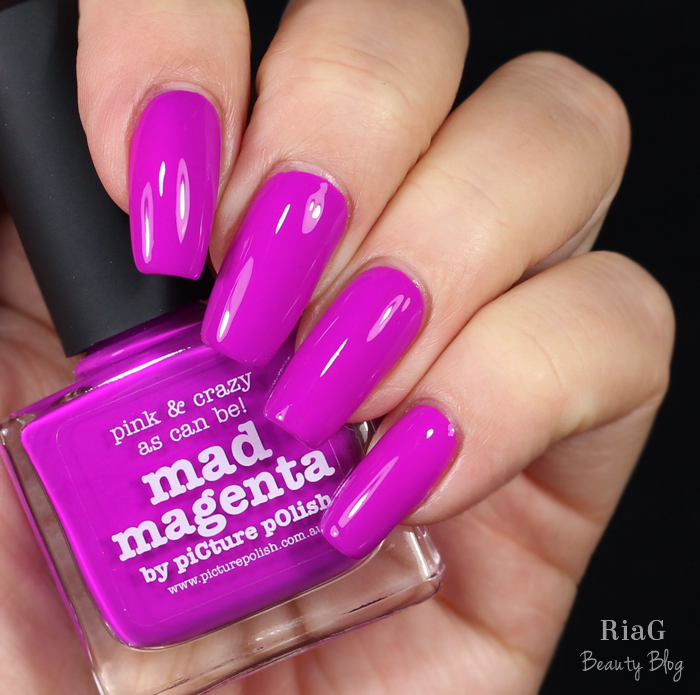 piCture pOlish – Mad Magenta – Ria G – Beauty Blog