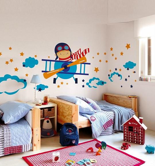Viniles vinilos stickers decoracion infantil flete - Letras para decorar habitacion infantil ...