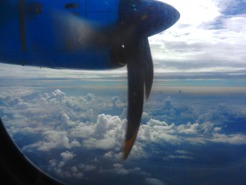 Летим над Бирмой