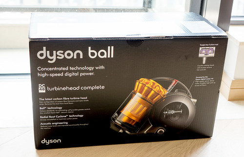這就是薯用的吸塵機- Dyson ball DC48