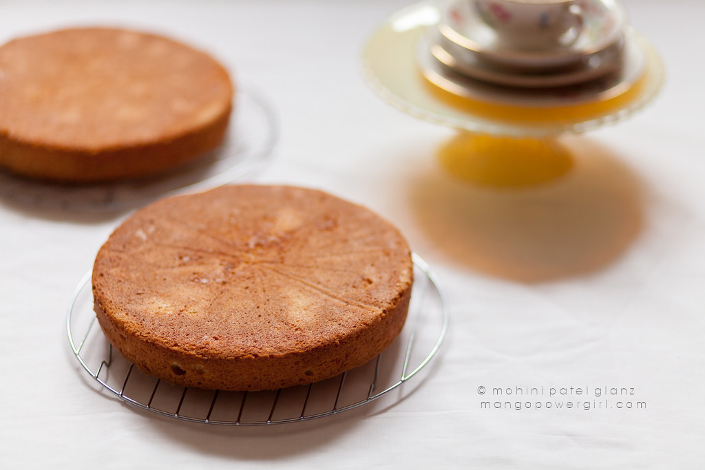 Cooling Cardamom Victoria Sponge Cakes