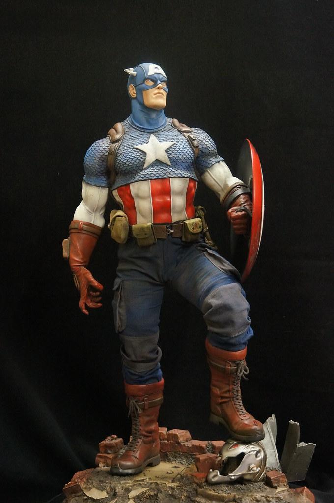 Custom Captain America Premium Format  25441857661_ac0cc414b8_b