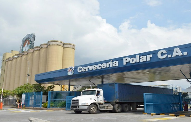 Se paralizó la última planta de Cervecería Polar