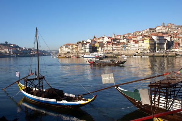 Ribeira de Oporto, Portugal