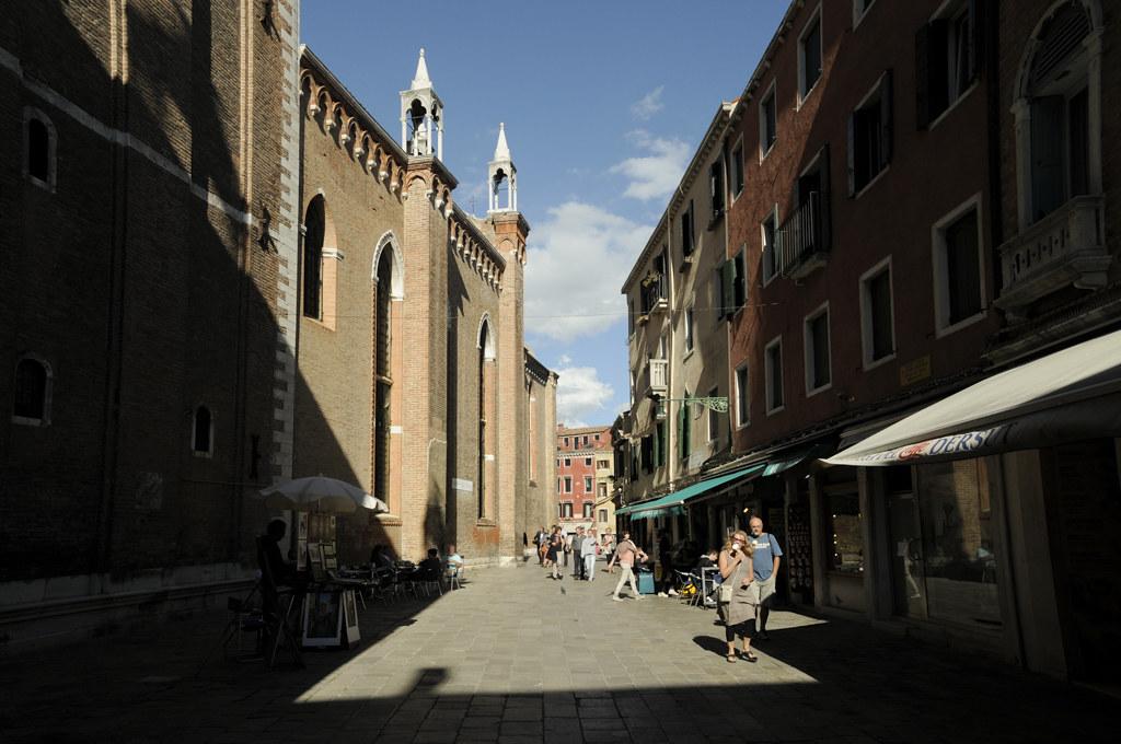alley, sun, blue, building, venice venezia venesia, italy, itali, europe, travel, traveling, must, see, photography