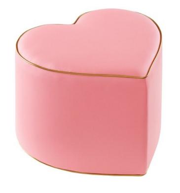 heart stool ottoman