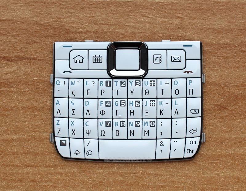 original nokia e71 tastatur tastenmatte griechisch neu. Black Bedroom Furniture Sets. Home Design Ideas