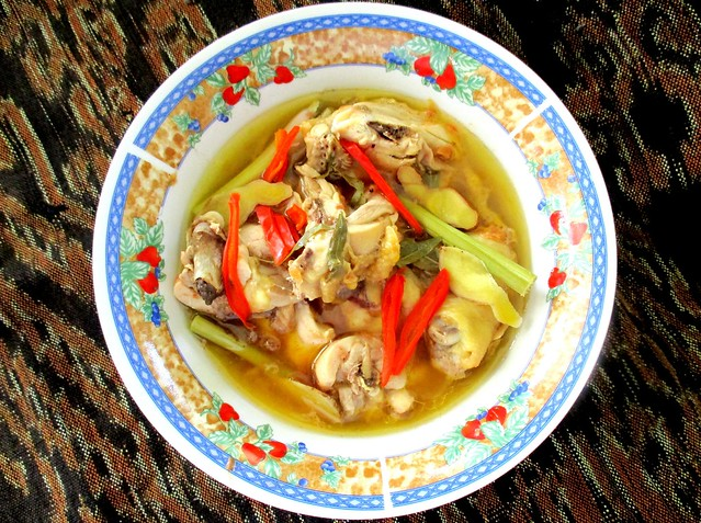 Steamed tuak chicken 1