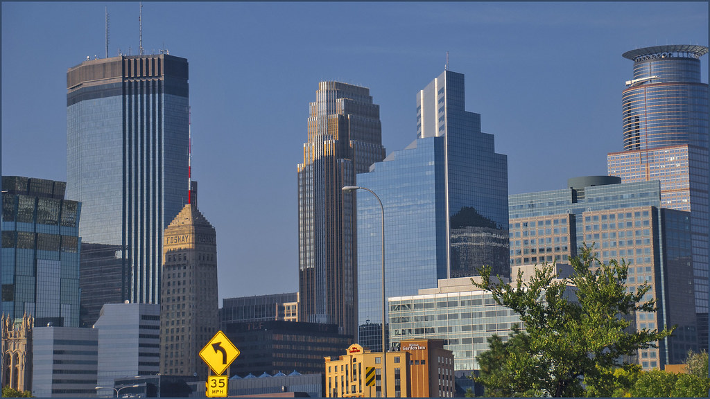 The Foshay Tower In Downtown Minneapolis Mn Late Afterno