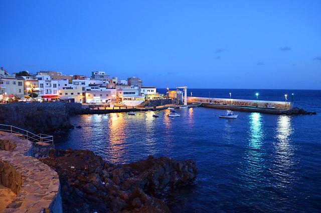 Harbour, Los Abrigos, Tenerife