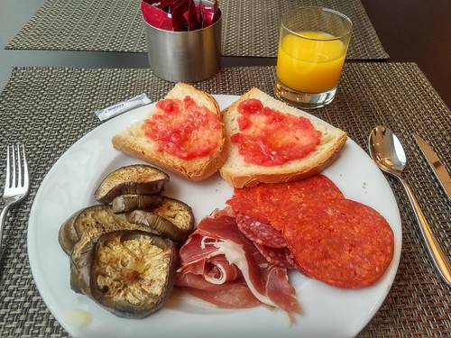 My Daily Breakfast in Barcelona