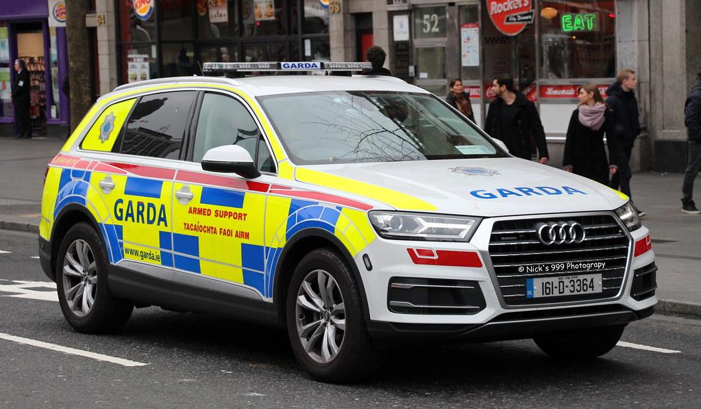Garda S 237 Och 225 Na 161 D 3364 Audi Q7 Armed Support Unit