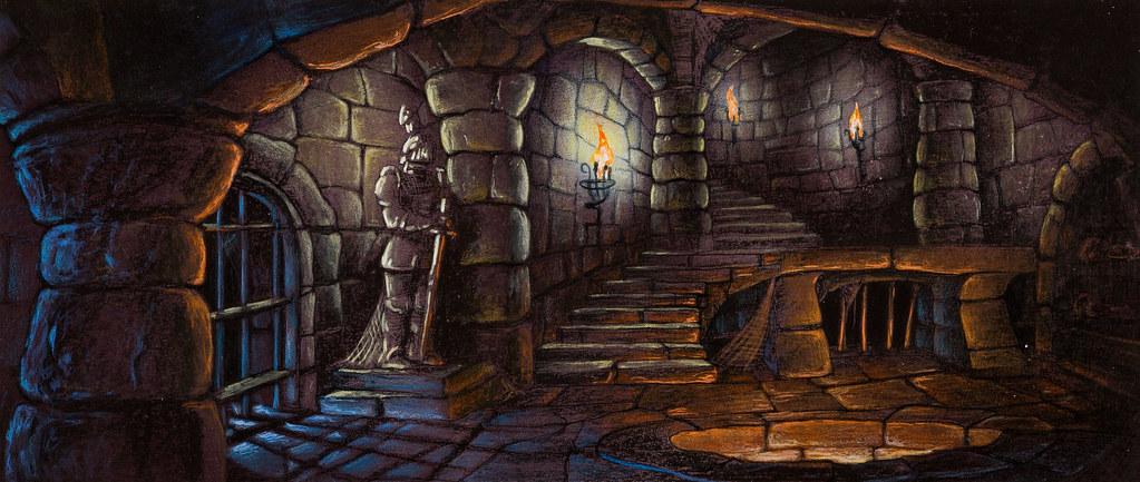 D D Dungeon Room Ideas