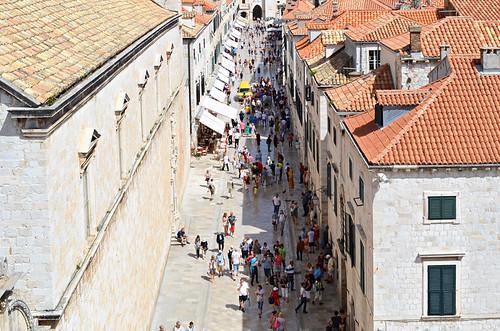 Main street, Dubrovnik old town, Croatia