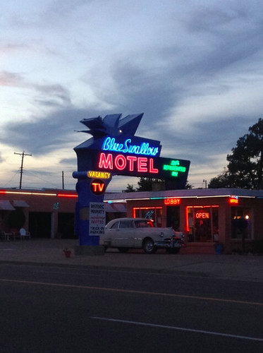 blue swallow motel in Tucumcari AZ