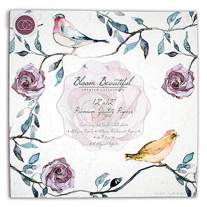 Craft Consortium Design Team - Bloom Beautiful Craft Consortium 12x12 papers