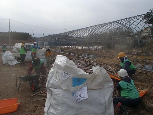 南相馬市小高区(避難指示解除準備区域)で災害ボランティア(援人 0122便)