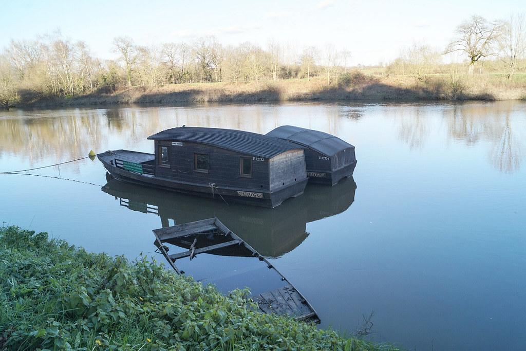 les toues bateaux en bois fond plat liodes flickr. Black Bedroom Furniture Sets. Home Design Ideas