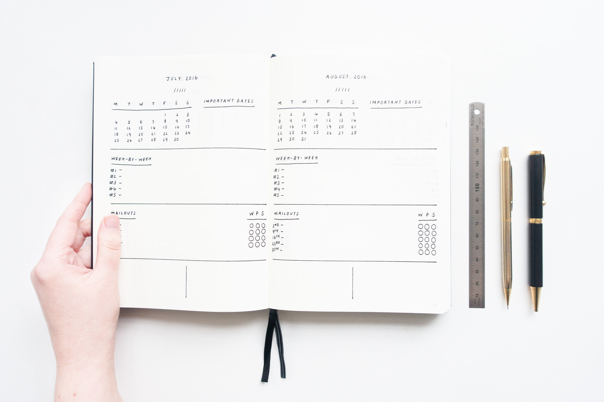 How to Create a Bullet Journal