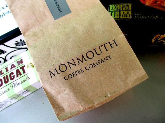 Monmouth coffee from the UK