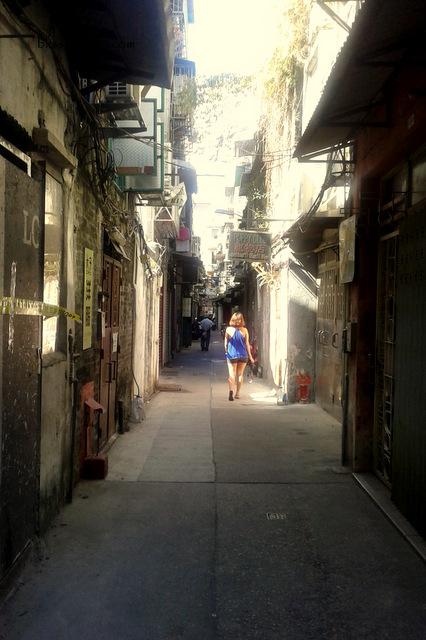 Macau Street Alleys