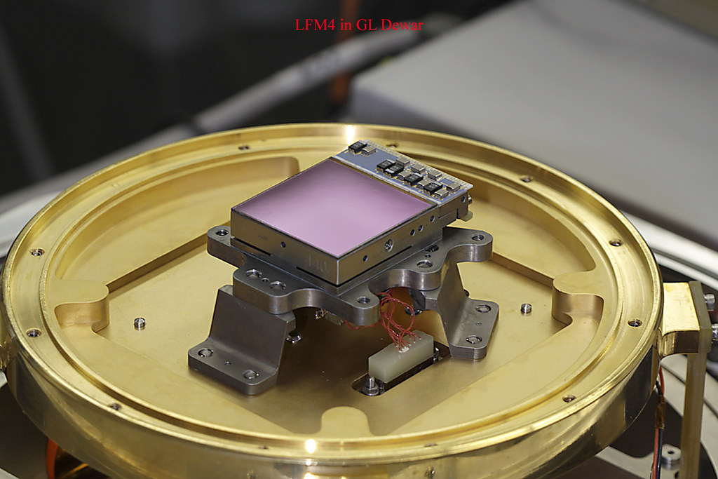 James Webb Space Telescope Near Infrared Camera (NIRCam) detector with optical baffles removed
