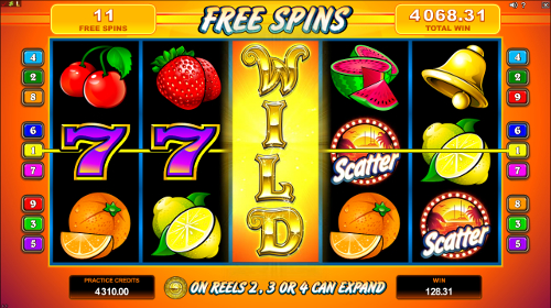 SunTide Free Spins