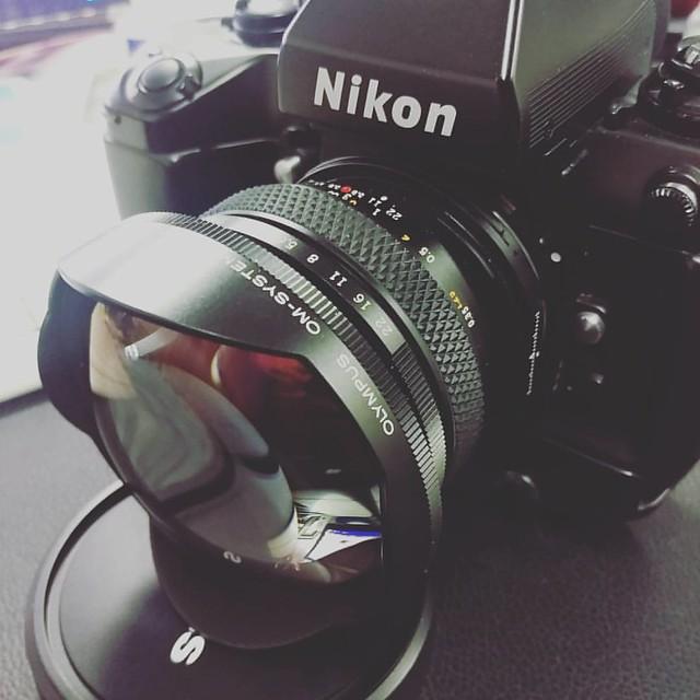 Olympus OM 24mm F3.5 SHIFT 世界