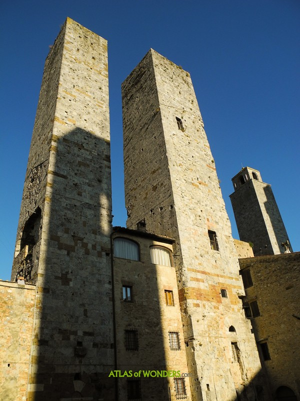 San Gimignano Twin towers