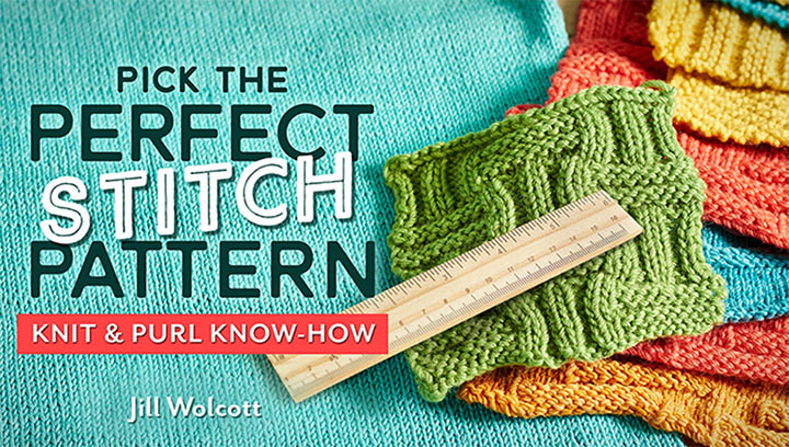 pick the perfect stitch knitting pattern