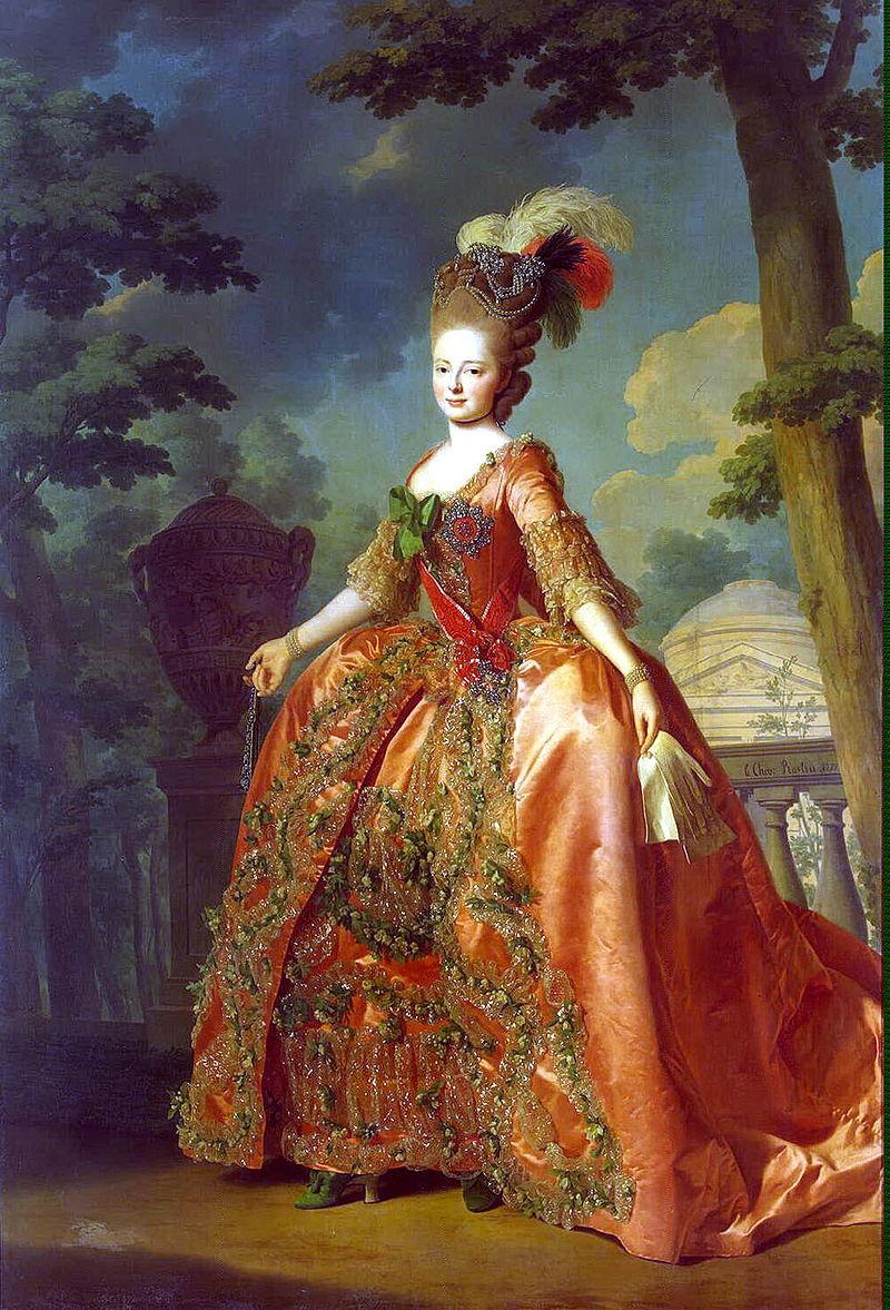 Maria Feodorovna, portrait by Alexander Roslin