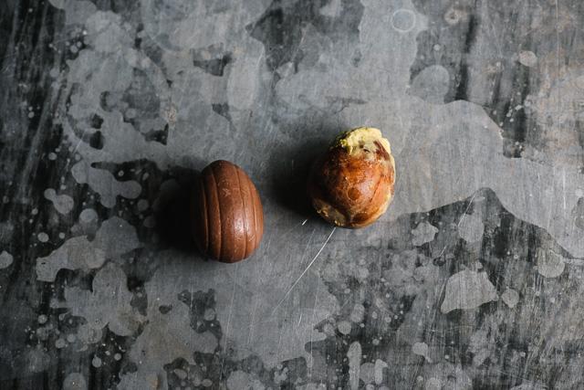 Cadbury Creme Egg and avocado toast